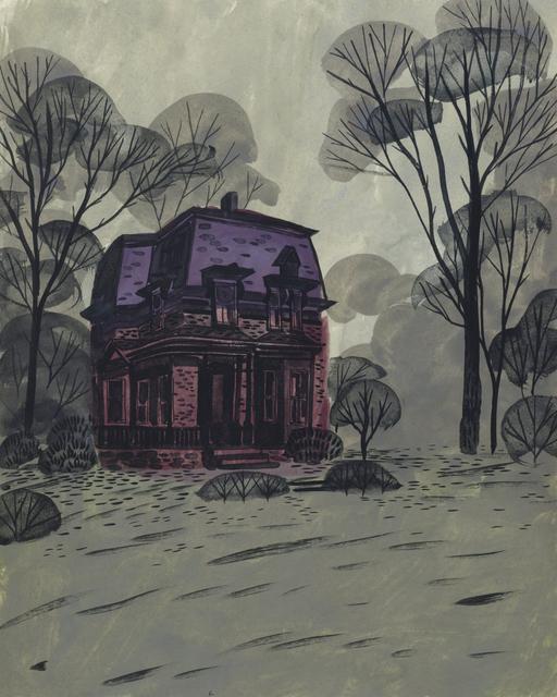 , 'Purple Roof,' 2012, Main Street Arts