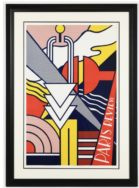 Roy Lichtenstein, 'Paris Review Poster-Print', 1967, Print, Hand Printed Silkscreen, David Lawrence Gallery