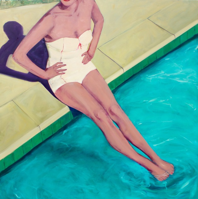 , 'Poolside Beauty,' 2010-2017, Eisenhauer Gallery