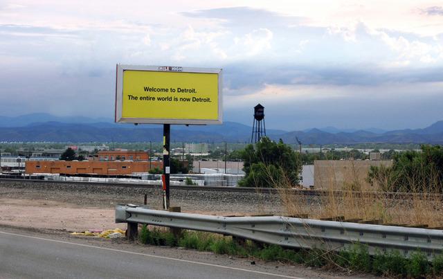 Douglas Coupland, 'Billboard,' 2013, Daniel Faria Gallery