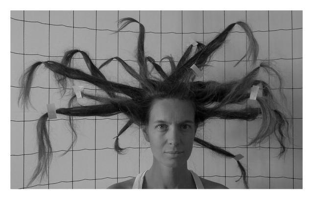 , 'Hair (Tribute to Gordon Matta-Clarck) Sérigraphie éditée par l'atelier Tchikebe,' 2018, Under Construction Gallery