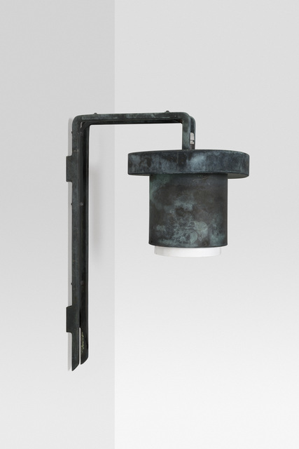 , 'Outdoor wall lamp,' 1955-1958, Galerie Le Beau