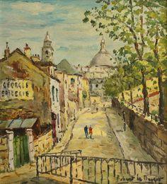 Rue en Montmartre