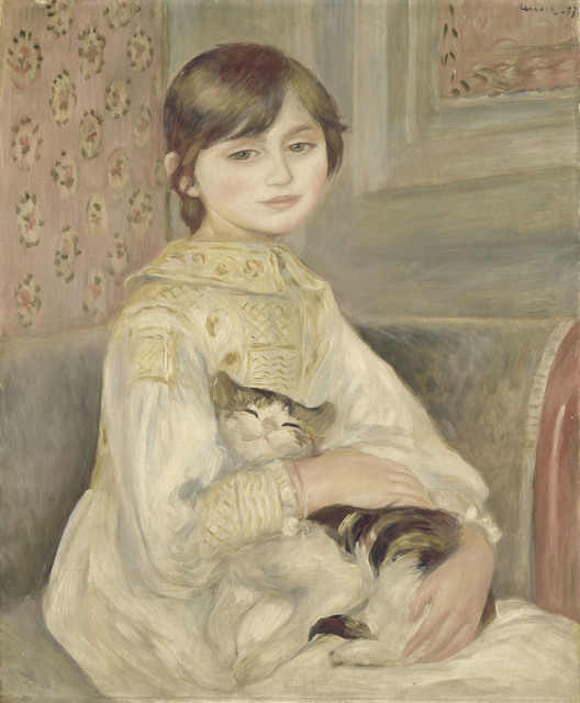 , 'Julie Manet or Child with a Cat,' 1887, The National Art Center, Tokyo