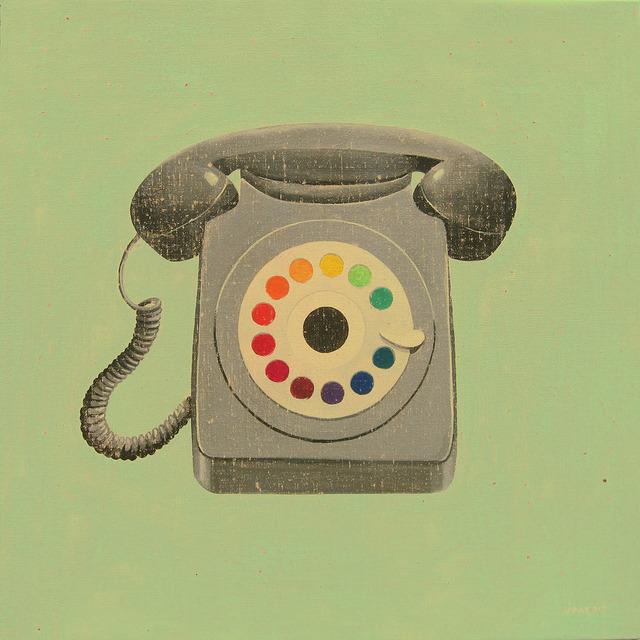, 'Telephone circle,' , GALERIA JORDI BARNADAS