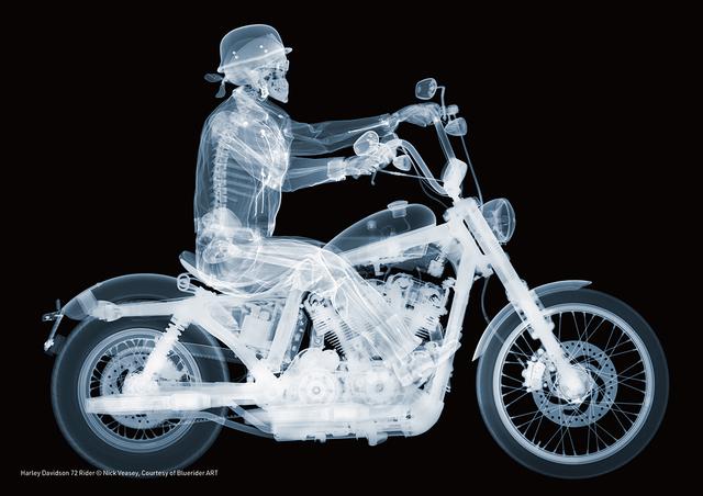 , 'Harley Davidson 72 Rider ,' 2014, Bluerider ART