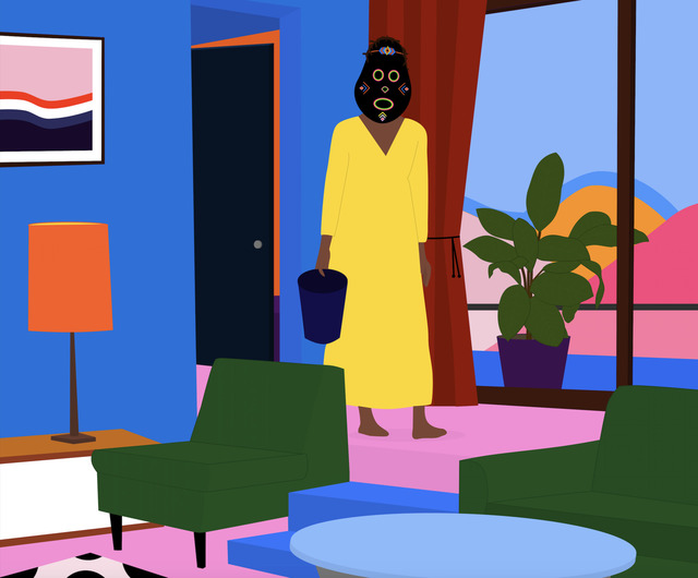 Dennis Osadebe, 'Long Weekend', 2018, Contemporary Collective Gallery