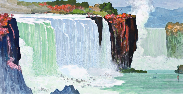 , 'Niagara Falls,' 1980, Asia Art Center
