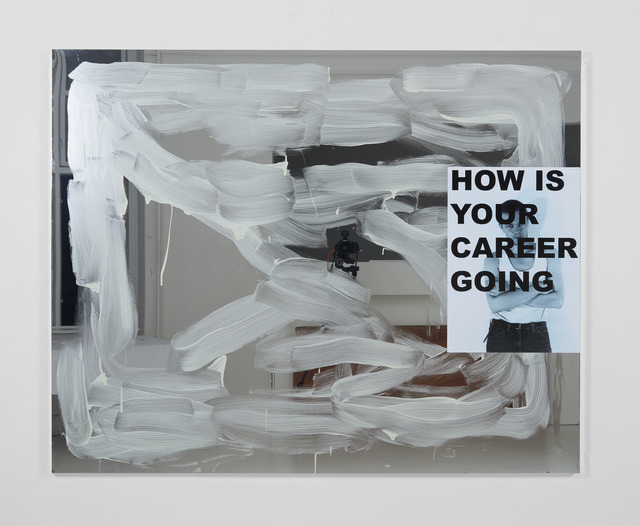 , 'Untitled (HOW IS YOUR CAREER GOING),' 2018, Martin Asbæk Gallery