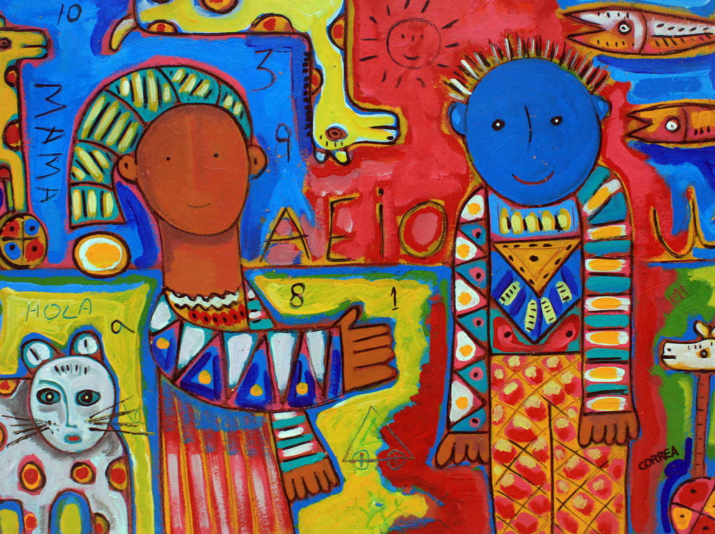 Art Mural Plage Amazone