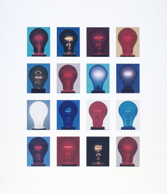 , '4 x 5 Color Light Bulb Grid II,' 2007, Rubber Factory