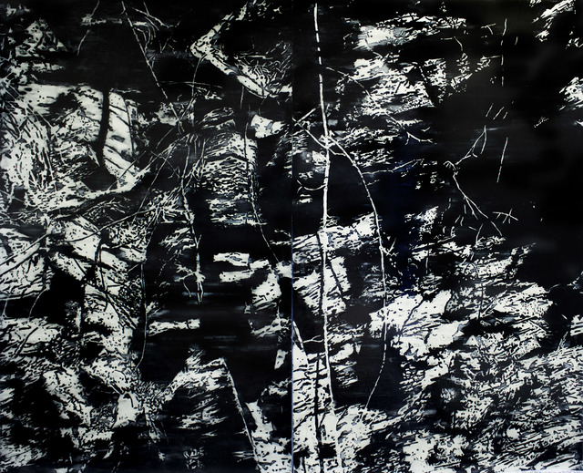 , 'Buried in Black and White II,' 2013, SMAC