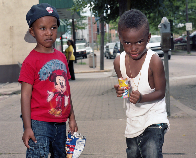 , 'Kids in Braddock,' 2012, Alan Cristea Gallery