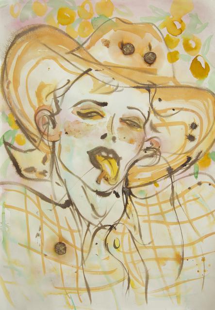 ", '""Chem farmers"" (yelllow tongue) ,' 2016, Nathalie Karg Gallery"
