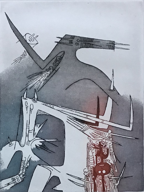 Wifredo Lam, 'Personnaggi', 1965, La Siempre Habana