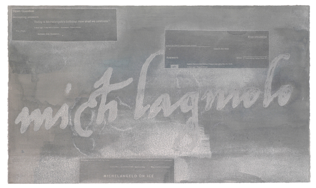 , 'Signature VII (Michlagniolo),' 2007, Wildwood Press