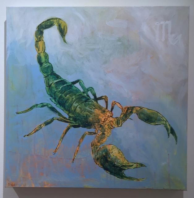 , 'Scorpio ,' 2017, Deep Space Gallery