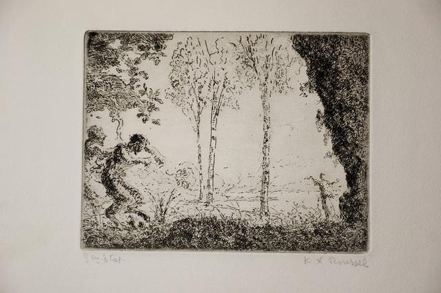 Ker Xavier Roussel, 'Nymphe et Faunes', ca. 1900, Wallector