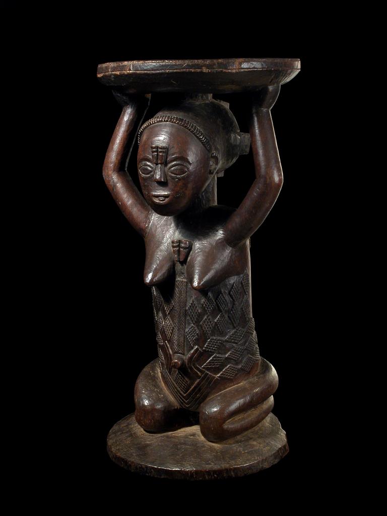 Stool (Zela, Democratic Republic of the Congo, Africa)