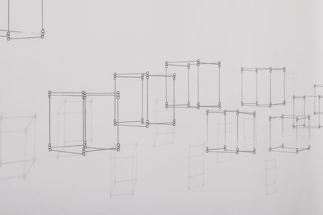 , '12 cubos en línea (Tapiz Doble 11),' , Galerie Denise René