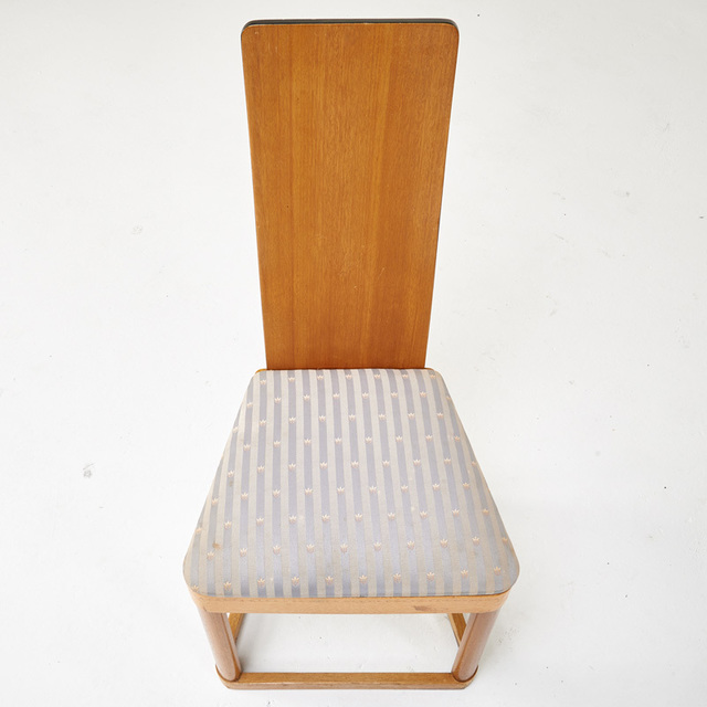Kem Weber, 'Rare set of four Airline side chairs, Los Angeles, CA', 1930s, Design/Decorative Art, Ash, upholstery, Rago/Wright