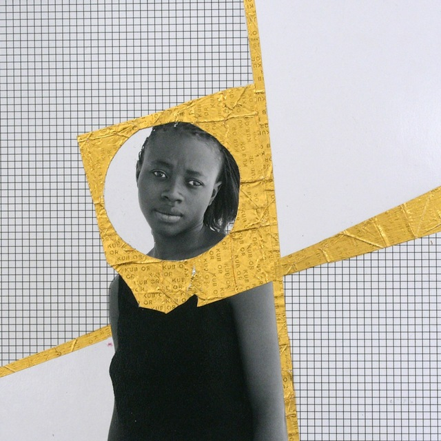, 'Mam'selle X, Or serie,' 2013, Galerie Cécile Fakhoury - Abidjan