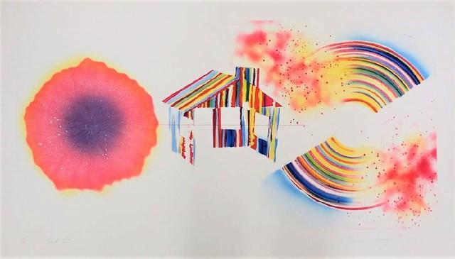 , 'Hot Lake (State I),' 1978, michael lisi / contemporary art