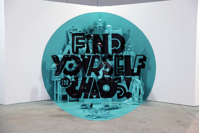 , 'Find Yourself in Chaos,' 2014, Underdogs Gallery