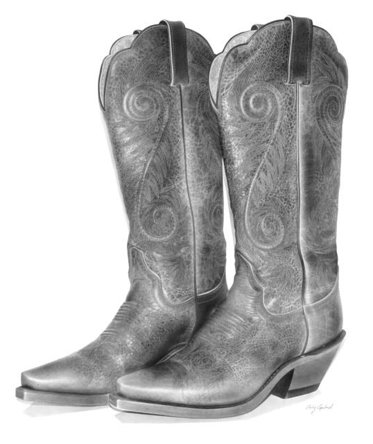 , 'Vintage Cowboy Boots ,' 2016, Bernarducci Gallery Chelsea