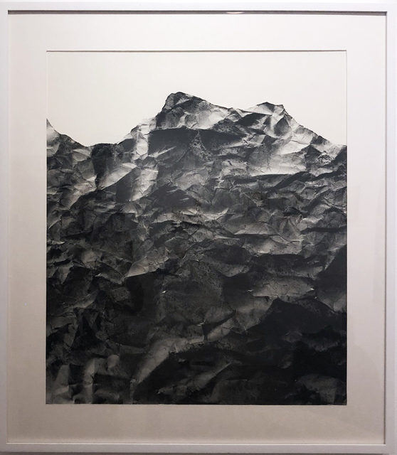 , 'Light (black and white with charcoal),' 2019, Deep Space Gallery