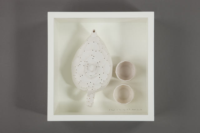, 'A teapot + two cups,' 2013, Future Icons