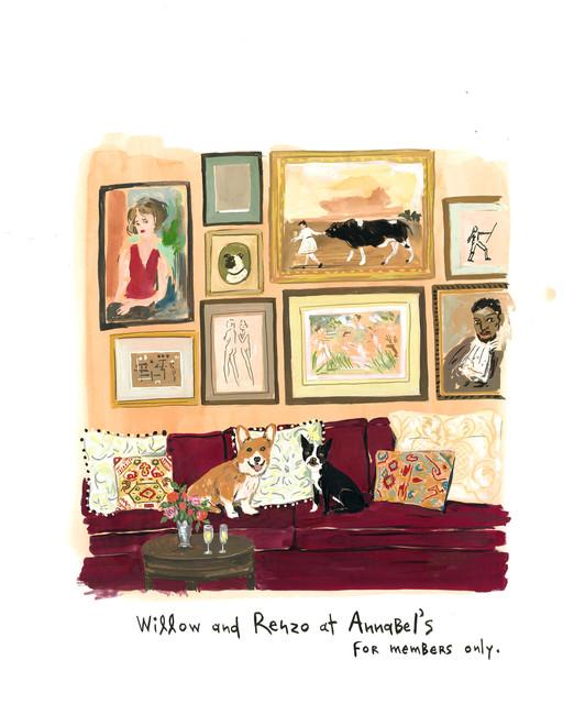 , 'At Annabel's,' 2014, Gavlak