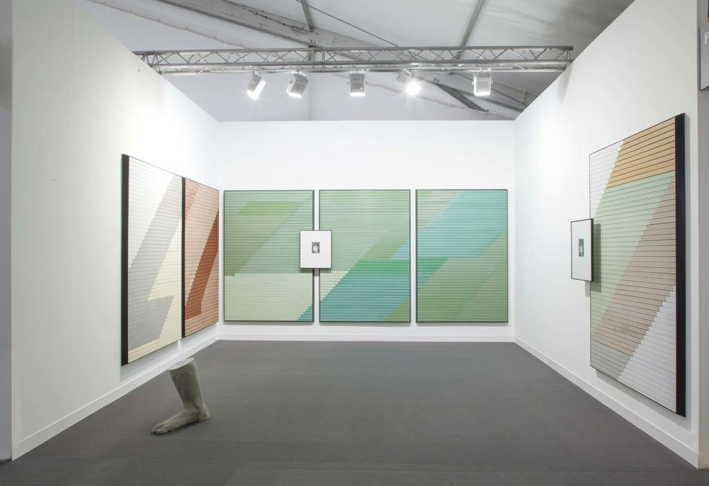 Alek O., Solo Presentation, Frieze London, 2014