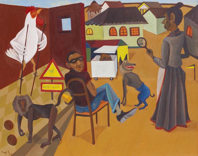 Richard Mudariki, 'Under the Magnifying Glass', 2014, Barnard