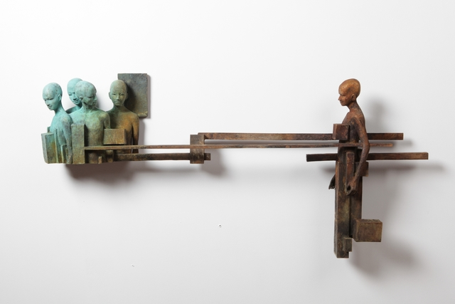 , 'Dialogo V,' 2017, Cafmeyer Gallery