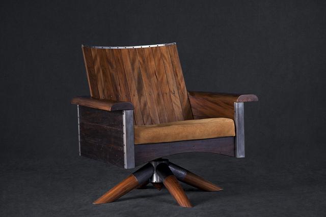 , 'Sergio rotating Armchair,' 2014, Atelier Carlos Motta