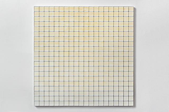 , 'Parallel Lines (Saffron to Lemon Chiffon),' 2016, Shoshana Wayne Gallery