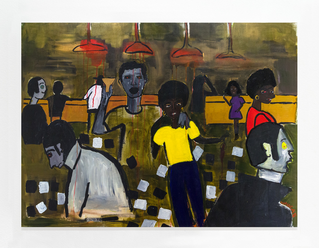 Cassi Namoda, 'Texas Bar 1971, Maputo City', 2018, Library Street Collective