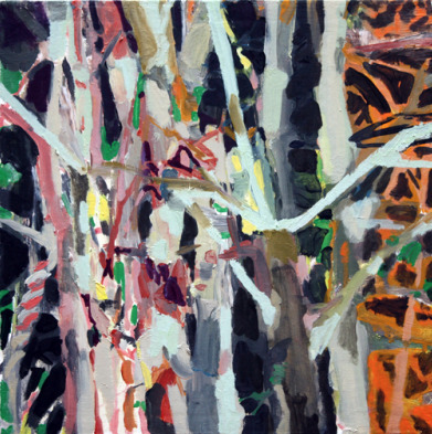 , 'Cluster of Trees,' 2011, The George Gallery