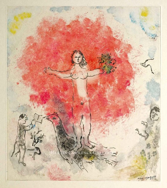 , 'Nu à l'oiseau,' 1974, Martin Lawrence Galleries