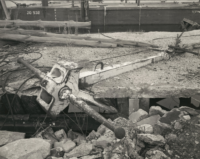 , 'Ship's Anchor, Middletown, Rhode Island,' 1984-1985, Pace/MacGill Gallery
