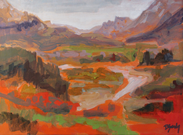 Diana Rae Zasadny, 'Blustery Waterton', Wallace Galleries