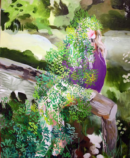 , 'Green,' 2017, Yiri Arts