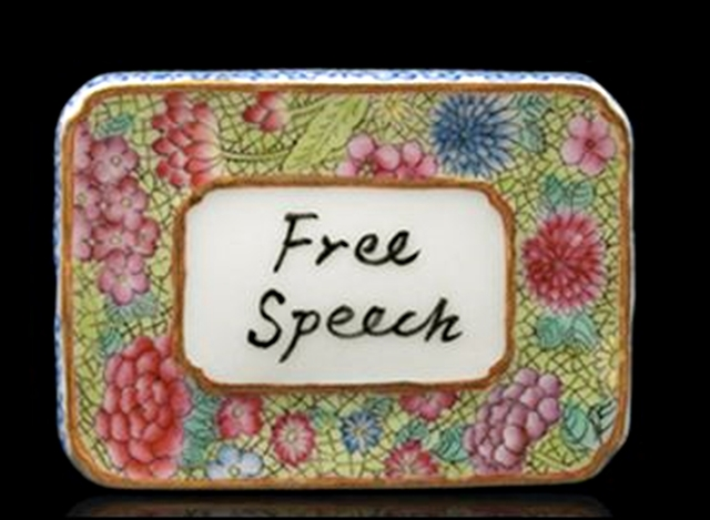 , 'Free Speech (with COA hand signed by Ai Weiwei),' 2014, Alpha 137 Gallery