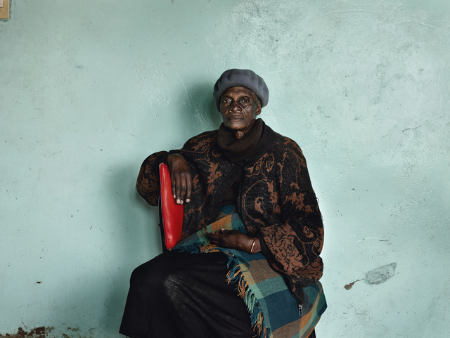 """Pieter Hugo, 'Meriam 'Mary' Tlali, who spent her entire adult life working as a maid for my grandmother, Kroonstad, from the series """"Kin""""', 2011, PRISKA PASQUER"""