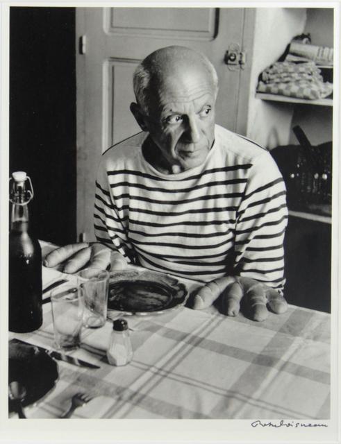 , 'Picasso aux petits pains,' ca. 1980, Fólio Livraria