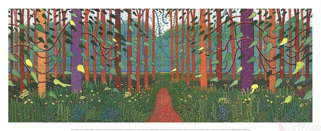 David Hockney, 'The Arrival of Spring in Woldgate, East Yorkshire', 2016, ArtWise