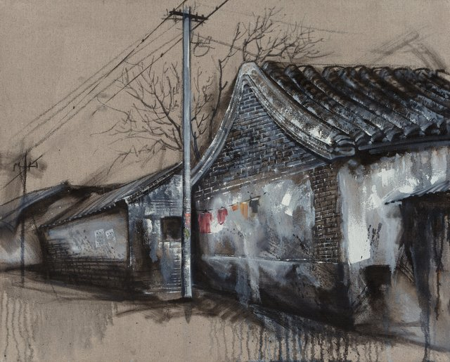 Lu Hao, 'Untitled (Hanging Laundry)', 2006, Heritage Auctions