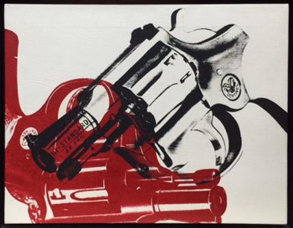 , 'Guns,' 1981, Galleria Tega