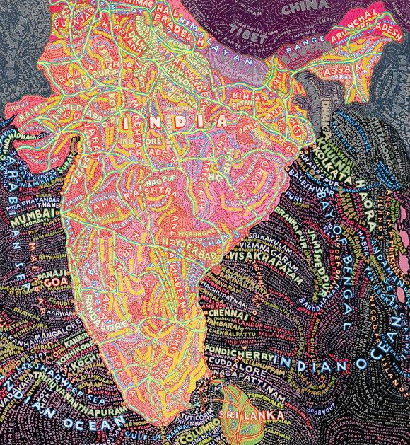 , 'India,' 2010, TAG Fine Arts